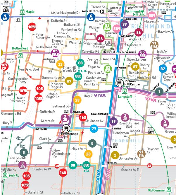 Routes Amp Schedules